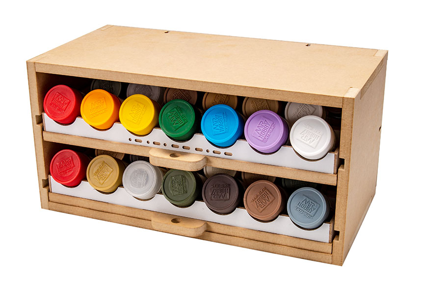 Slide&Tilting Drawer Paint Shelf OPERA-19A (For acrylic, enamel) Thumbnail Image 15