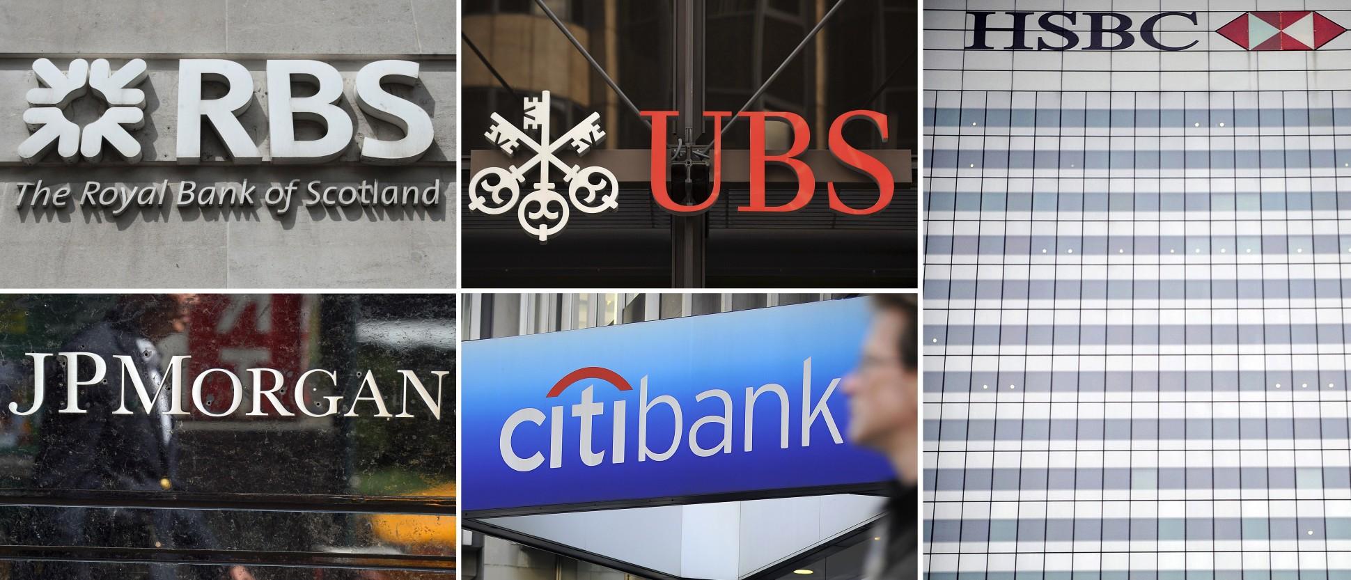 banks slapped fine