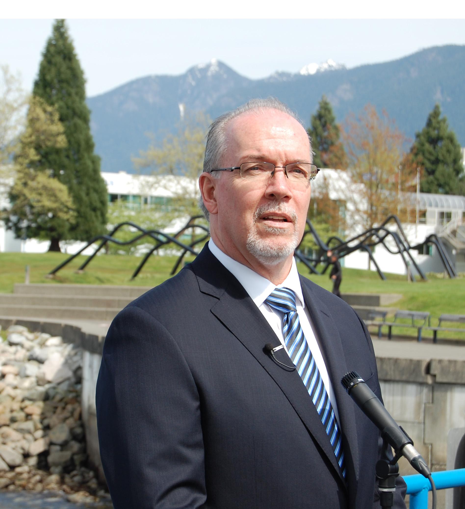 John Horgan, Leader, BC NDP