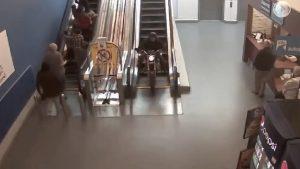 guilford mall escalator