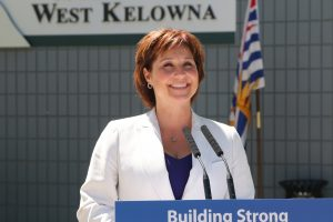 A file photo of BC Premier Christy Clark
