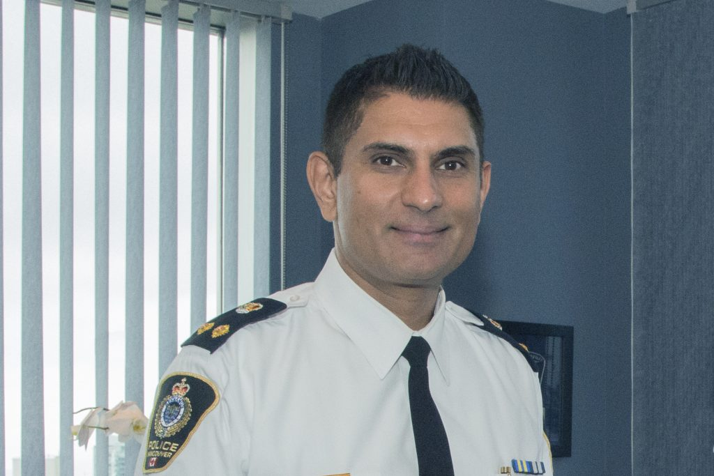 Deputy Chief Steve Rai, talks about his role in one of Canada's premier police agencies. Photo: Ray Hudson