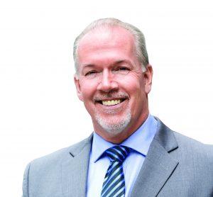 John Horgan Leader of the B.C. New Democrats