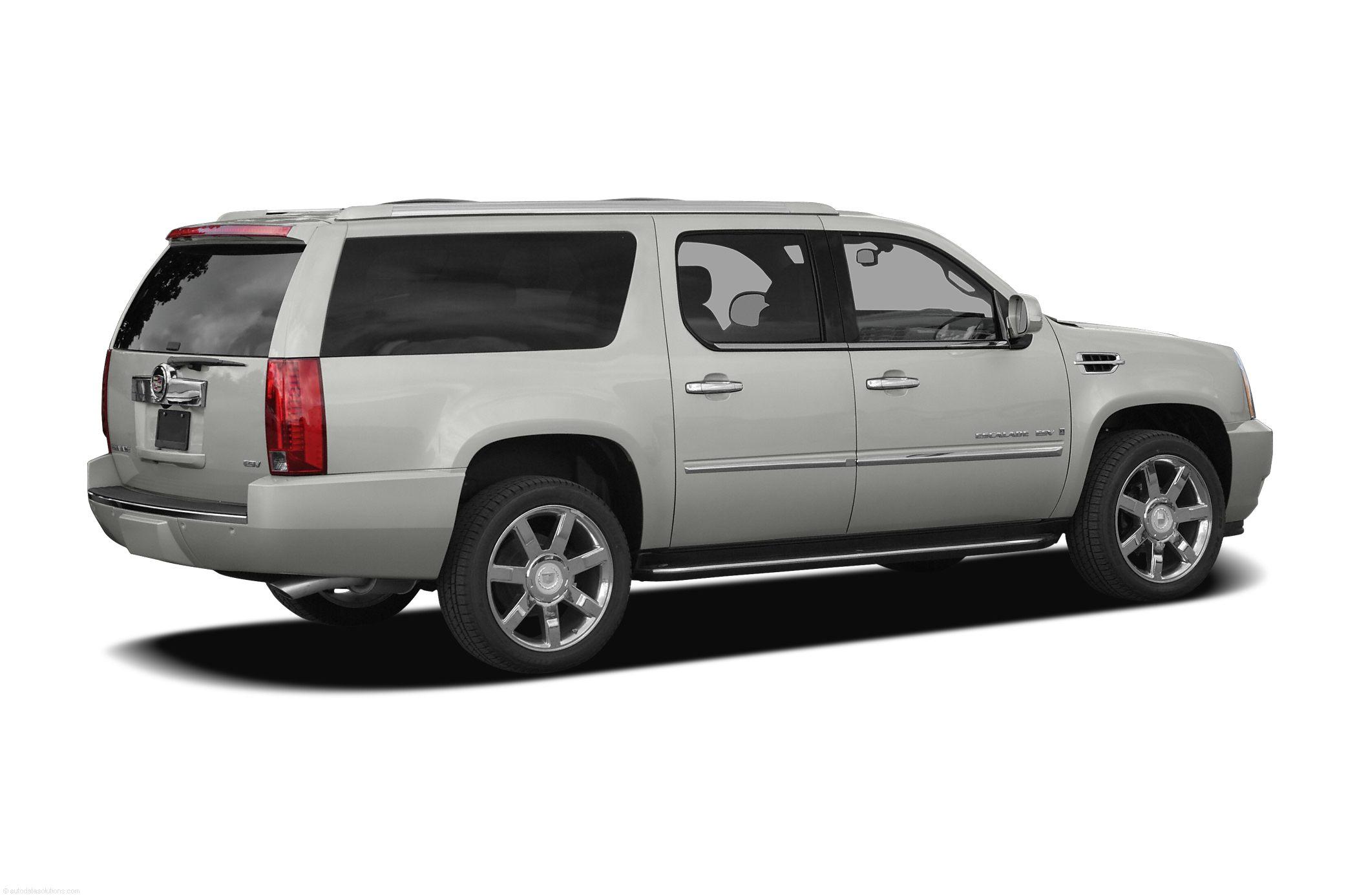 2010-Cadillac-Escalade-ESV-SUV-Base-4x2-Exterior-Back-Side-View