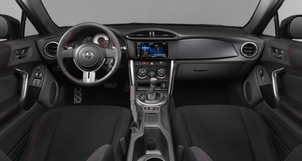 2016-Scion-FR-S-Interior