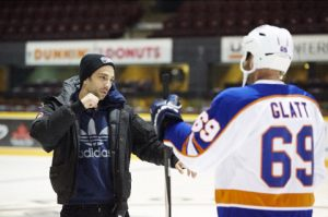 Photo: Director Jay Baruchel on the set of GOON: LAST OF THE ENFORCERS, an Entertainment One Release.