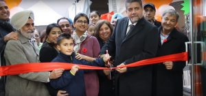 2 MP Jinny Sims and MP Sukh Dhaliwal at FarmNSpice-Grand Opening