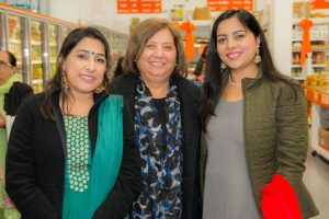 3 Simran Hothi, MP Jinny Sims and Navjot Hothi