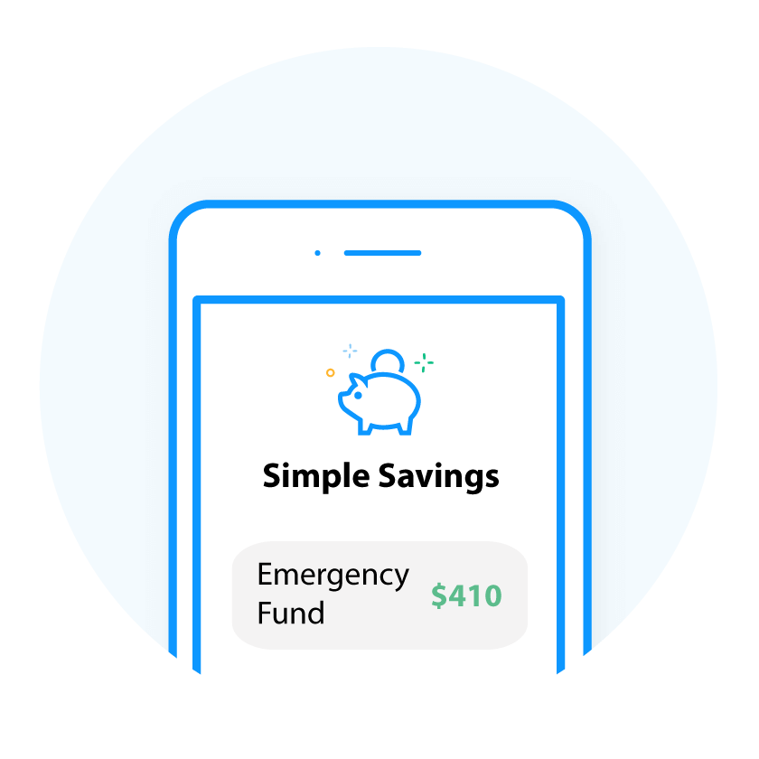 Simple Savings Screen