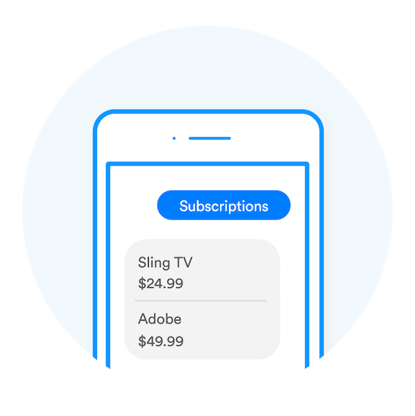 Subscriptions Savings Screen