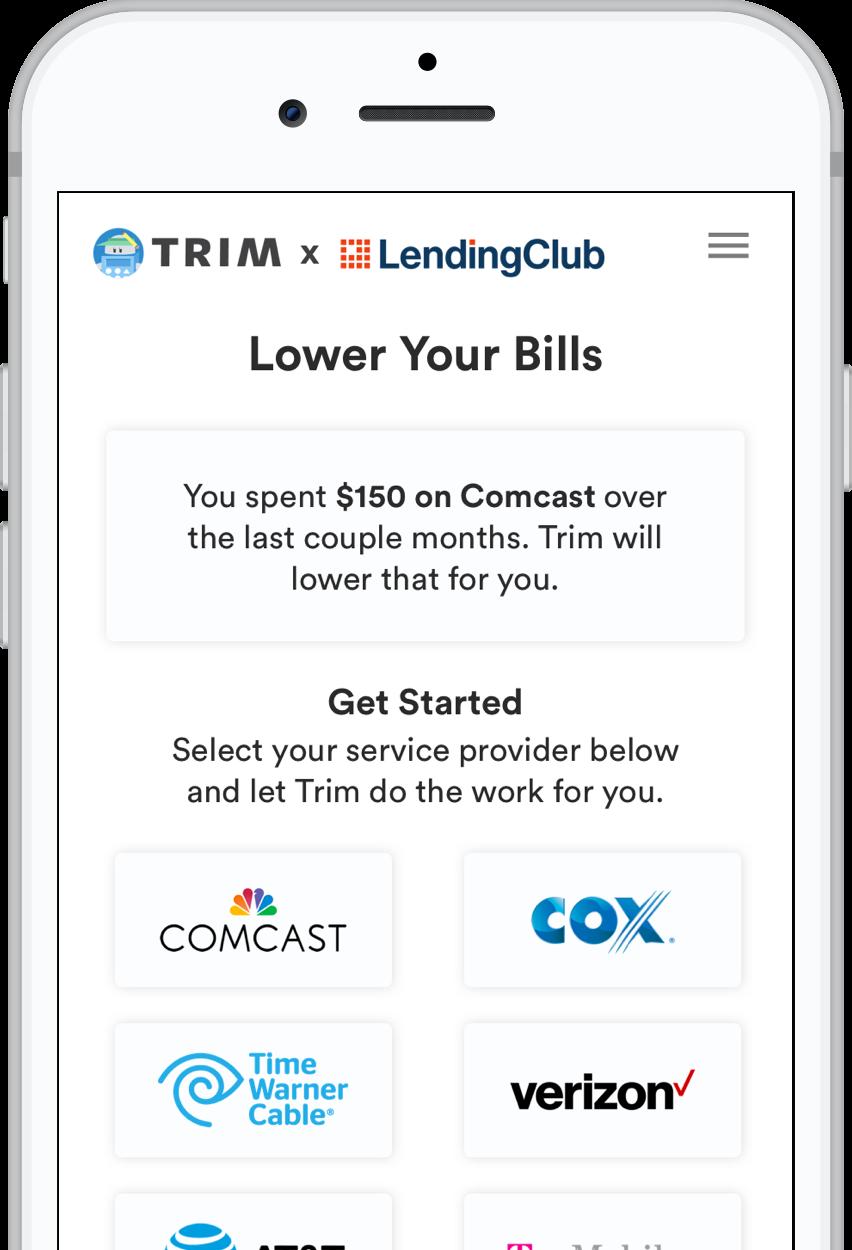 Lendingclubtrimwithiphone