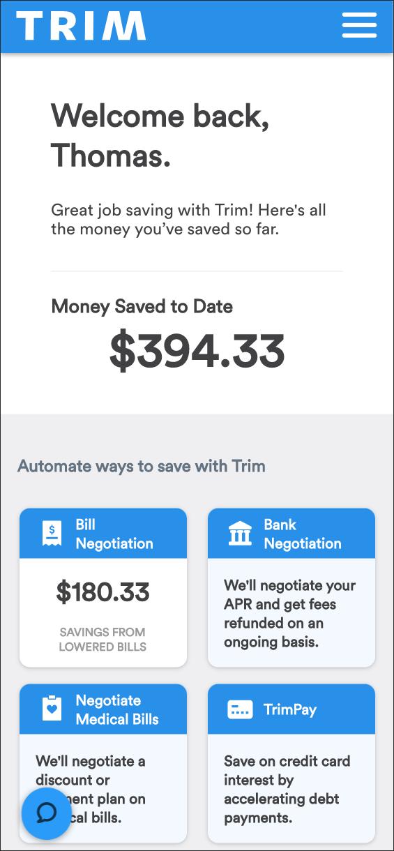 Thomas dash bill savings 394