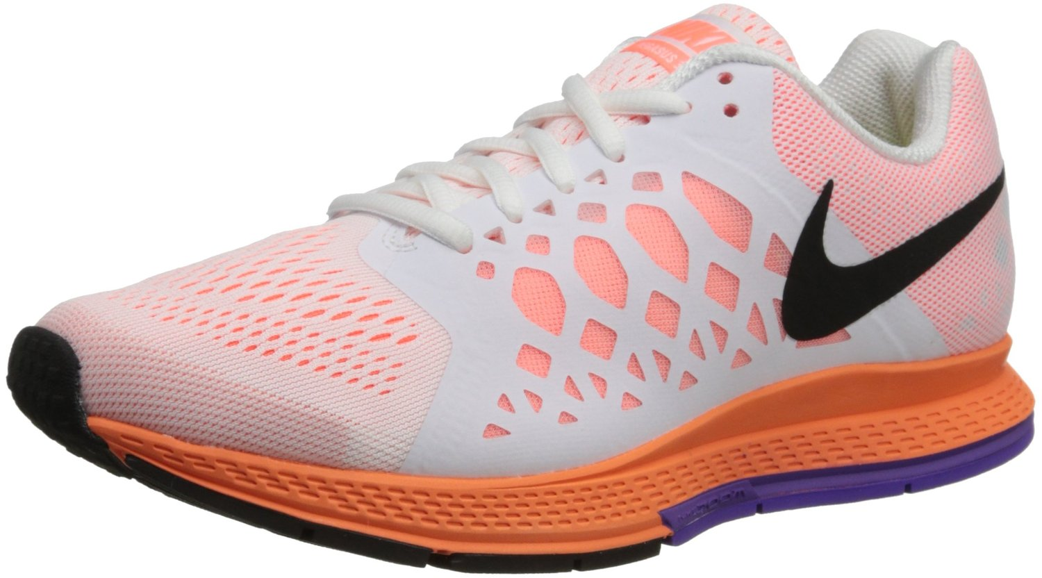 ca10c8befb50 Details about Nike Air Zoom Pegasus 31 Women s Running Shoes 654486-102  White Black Brght Mng