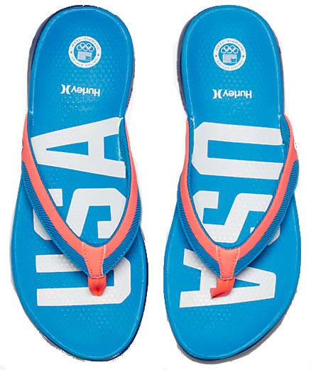 64b37b6a5b8 Hurley Mens Phantom Free (USA) Sandals. Hurley
