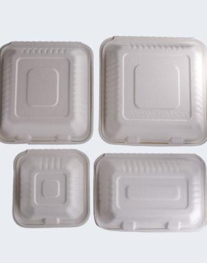 Contenedores biodegradables para alimentos