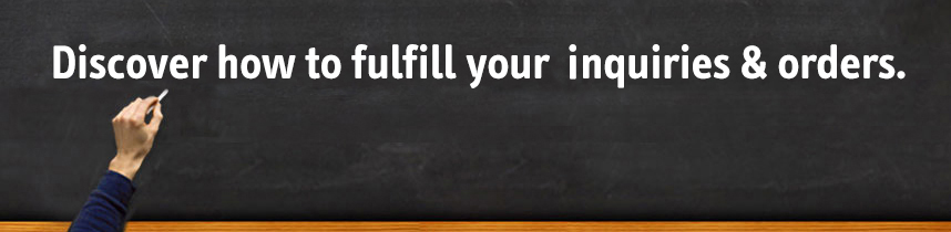 Discover how to fulfill your INQUIRIES & orders.