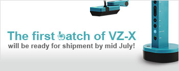 VZ-X Wireless, HDMI & USB 8MP Document Camera - The first batch of VZ-X will be ready for shipment anytime soon!