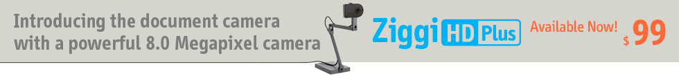 Ziggi-HD Plus High-Definition USB Document Camera