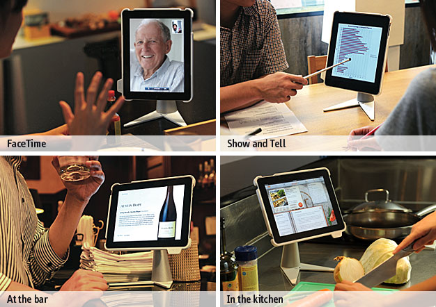Perch Desktop Stand for iPad