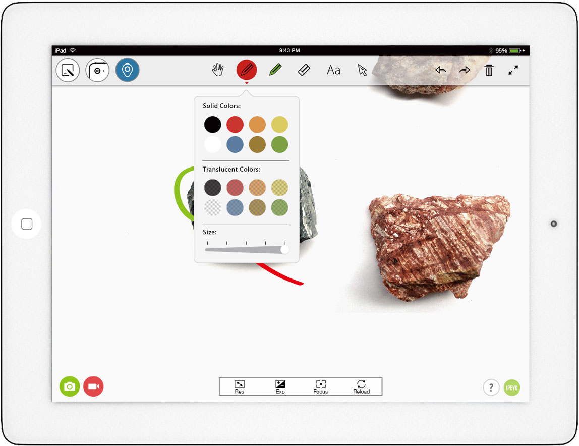 Whiteboard app for ipad for Application miroir pour ipad