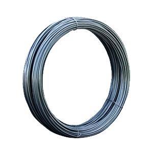 Alambron de acero al carbon, laminado en caliente, superficie lisa, con alta resistencia a la tension.