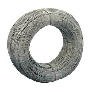 Alambre hecho con acero en acabado negro
