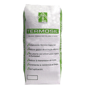 Es un agregado granular de perlita mineral expandida tratada con silicón, ideal para aislamiento de muros.