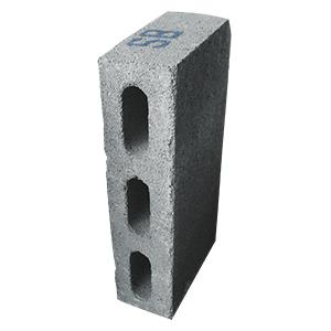 Peso  9.85 kg ,Medida de Resistencia  mínima a  ruptura Mayor de 80 kg/cm² medidas Largo 39.5cm, Ancho 9.5cm, Alto 19.5cm.