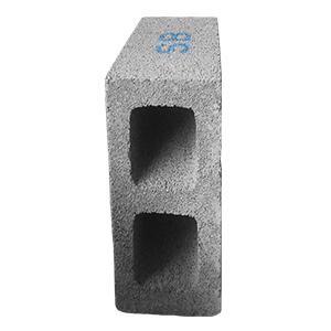 Peso  12.75  kg,  Medida de Resistencia  mínima a  ruptura Mayor de 80 kg/cm²,  medidas Largo 39.5cm, Ancho 14.5cm, Alto 19.5cm