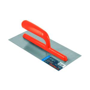 • Hoja fabricada en acero • Canto recto • Mango fabricado en plástico ABS color naranja