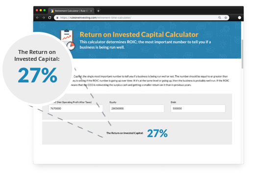 Investment Calculators by Phil Town | Rule One Investing