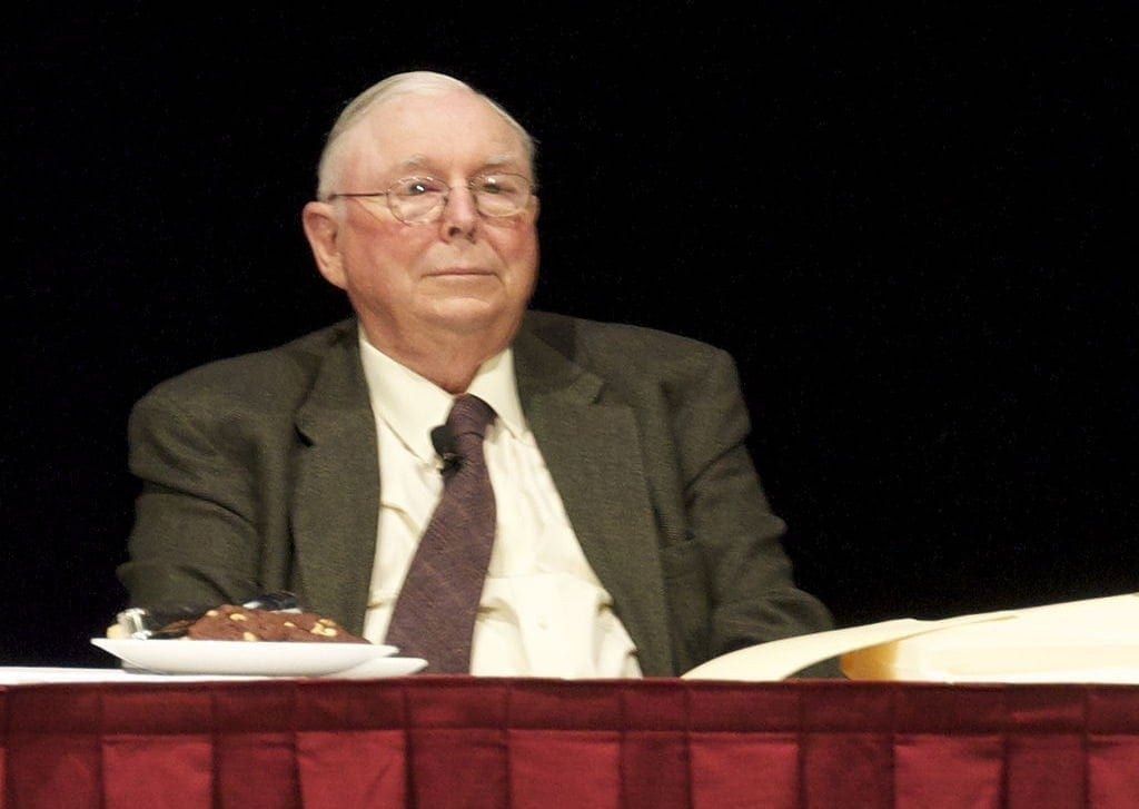 Charlie Munger discusses the best way to invest $1000