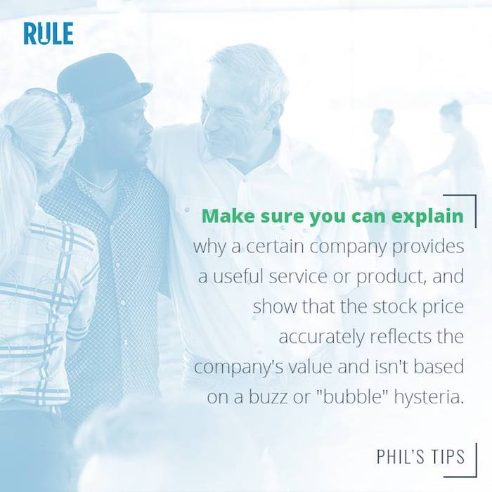 investing strategy rule one