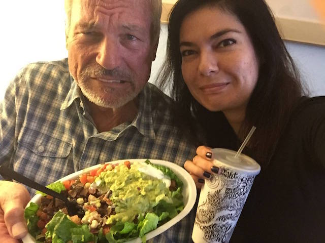 phil-town-danielle-town-eating-at-chipotle