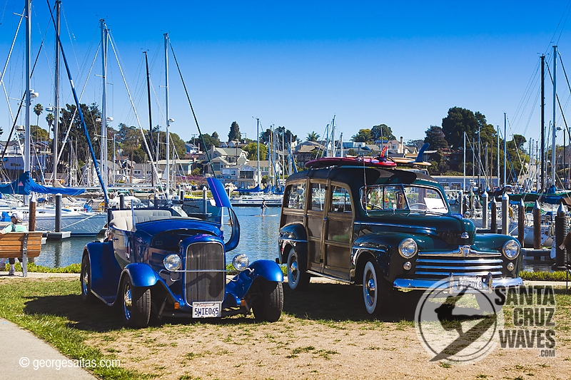 Santa Cruz Harbors Th Anniversary And Car Show Santa Cruz Waves - Santa cruz car show