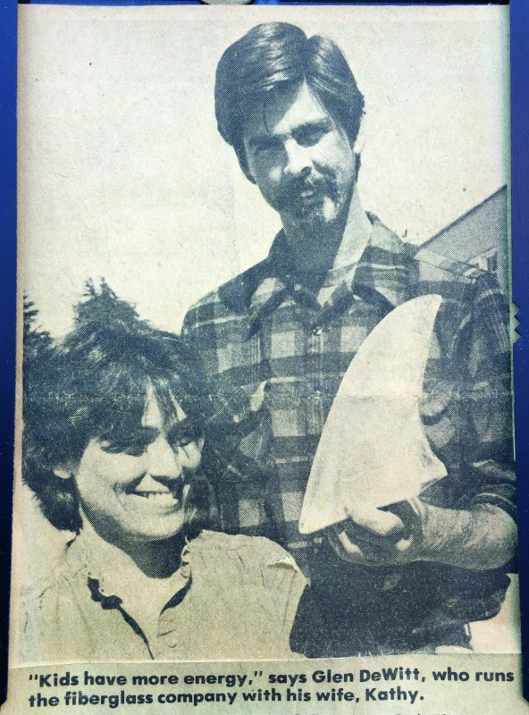 I wish I had the date on this. But my parents are pretty young here. This was I think in the SC Sentinel news paper.