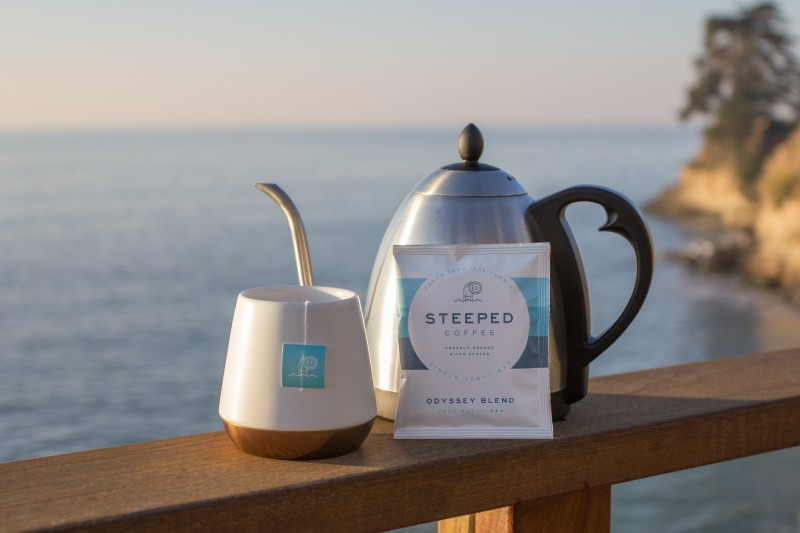 Steeped Coffee - Outdoors 1