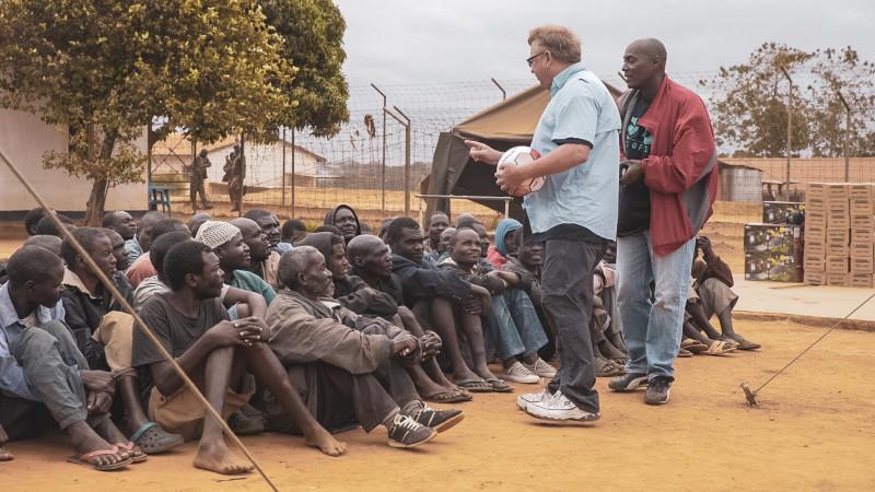 Maula Prison Day 5 paddy talking