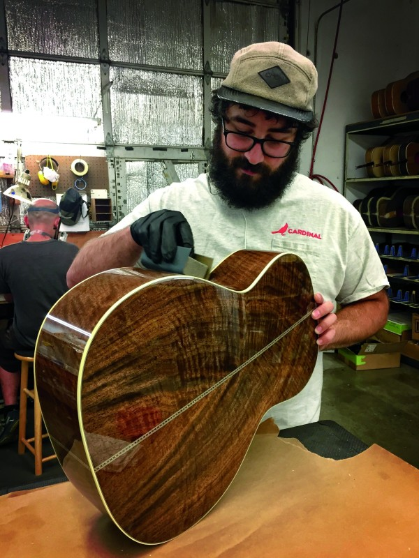 Rick Barto of Santa Cruz Guitar Company