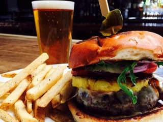 Searsucker's $12 burger and brew special for 4th of July weekend is hotter than...well, a firecracker on 4th of July.
