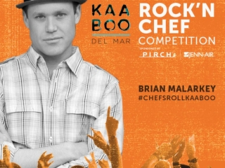 @KaabooDelMar is one of the most anticipated festivals coming to San Diego, and we're excited to cheer on Chef @BrianMalarkey in the #ChefsRoll Rock'n Chef Competition! #ChefsRollKAABOO