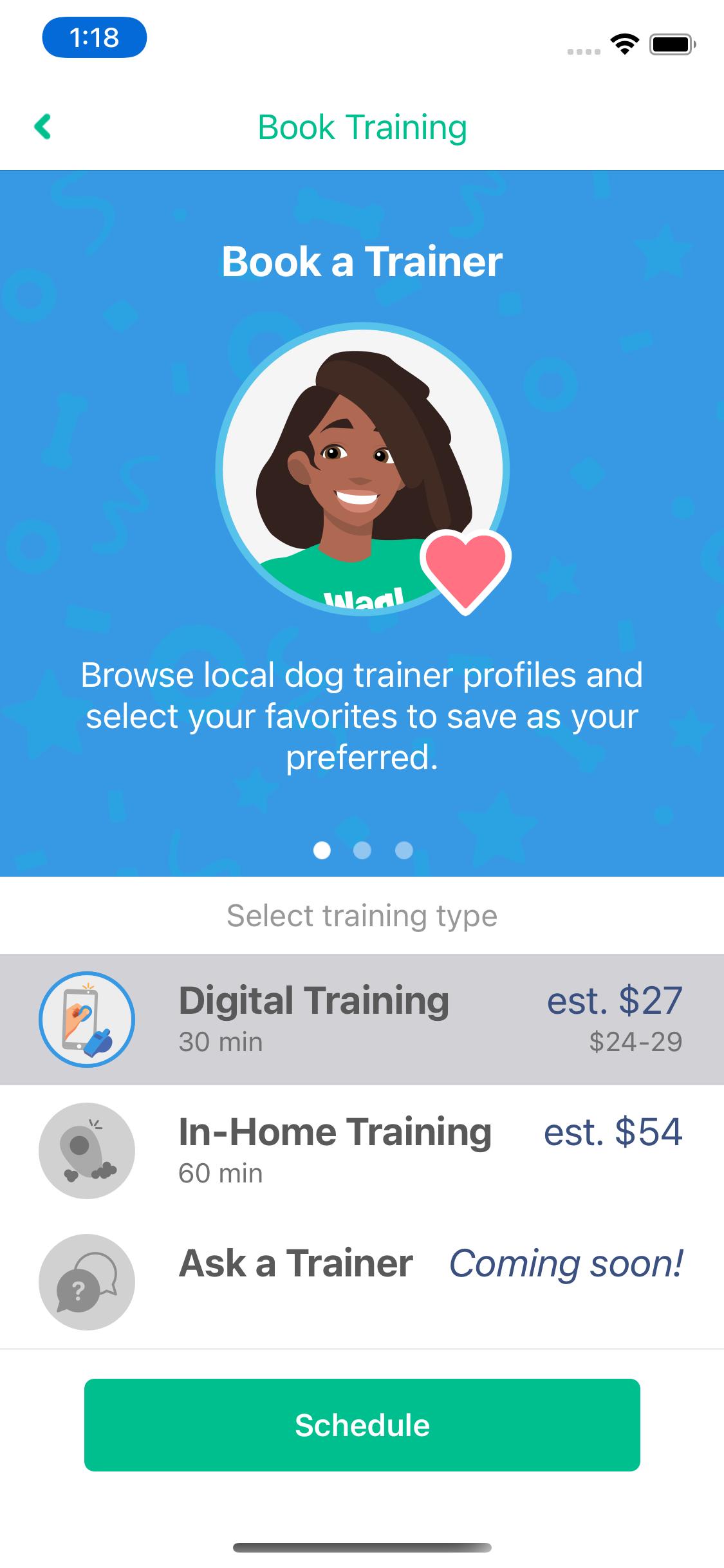 virtual pet training book a digital pet trainer