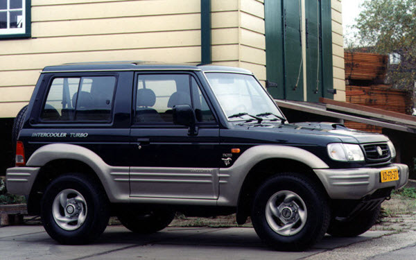 2001 HYUNDAI GALLOPER 3.0 EXCEED AT 3P