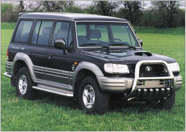 2001 HYUNDAI GALLOPER 3.0 EXCEED MT 5P
