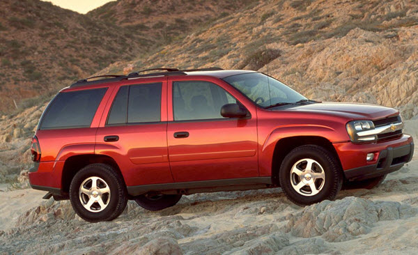 2002 CHEVROLET TRAILBLAZER 4.2 LT 4WD SU AT 5P