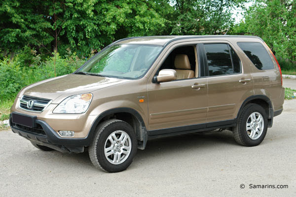 2002 HONDA CR-V 2.4 EX 4WD AT 5P
