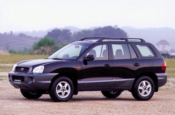 2002 HYUNDAI SANTA FE 2.7 GL 4WD FULL AT 5P