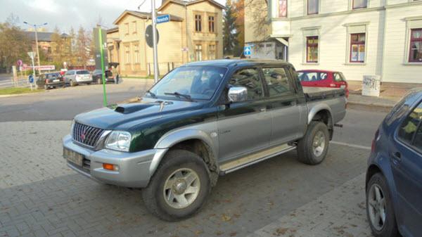 2003 MITSUBISHI L200 2.5 DAKAR DIESEL 4WD BDT FULL AB ABS MT 4P