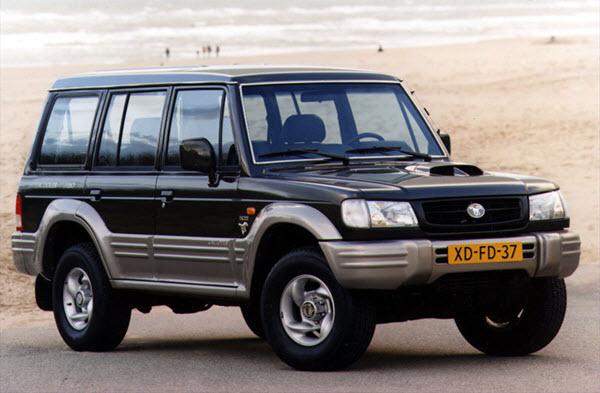 2004 HYUNDAI GALLOPER 3.0 EXCEED V6 MT 5P