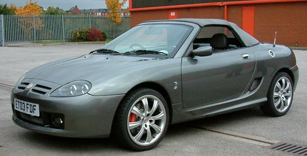 mg tf-160 2005